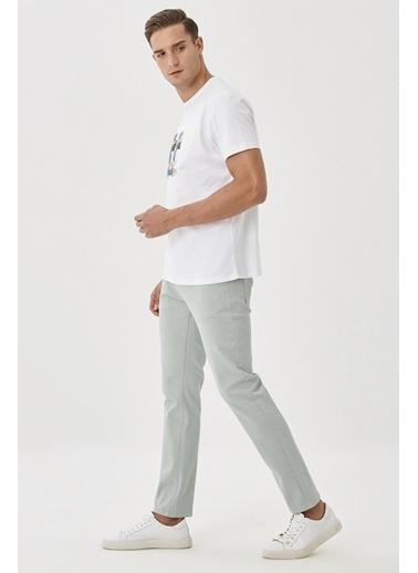 Altınyıldız Classics 360 Derece Her Yöne Esneyen Rahat Slim Fit Pantolon 4A0121200002 Yeşil